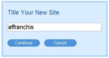 nommez votre site