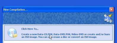 graver fichier iso cdburner