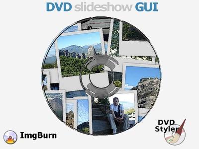 DVD avec toutes mes diaporamas photos