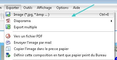 Exporter jpg Studio Scrap