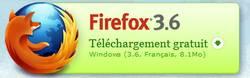 Télécharger Firefox 3.6