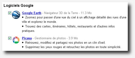 google earth et picasa