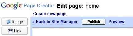 retour au manager google page