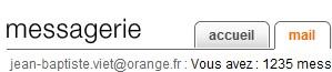 Communiquer son mail Orange