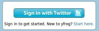 connecter twitter à yfrog