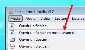 VLC Mode Avancé