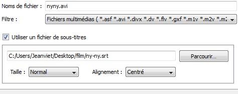 VLC Sous titres