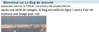 Wordpress sur Jeanviet
