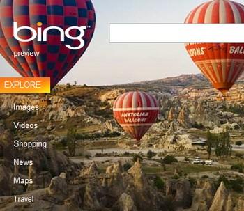 Bing Us avec toutes les fonctionnalités