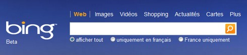 Live Search rebrandé en Bing