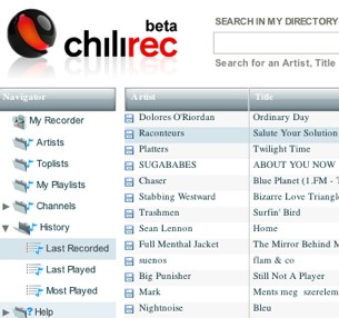 Play liste chilirec