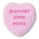 coeur st valentin avec texte