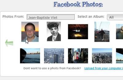 photo facebook de votre compte