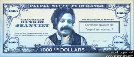 Envoyer de l'argent sur Internet