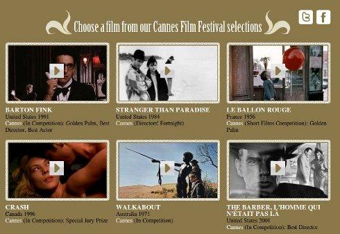 Films festival de cannes 2010