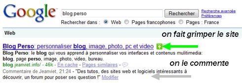 Google blog perso