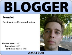 ma carte de blogger