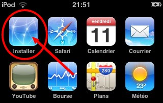 installer iphone