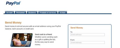 mail paypal