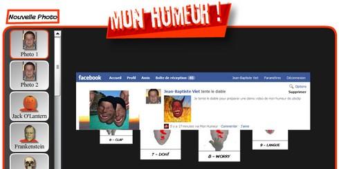 Mon Humeur sur Facebokk