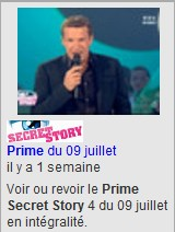 prime secret story 4 en tele replay