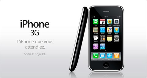 prix iphone 3g en france entre 150 et 200 euros chez orange. Black Bedroom Furniture Sets. Home Design Ideas
