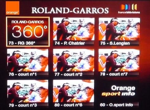 Roland Garros en streaming