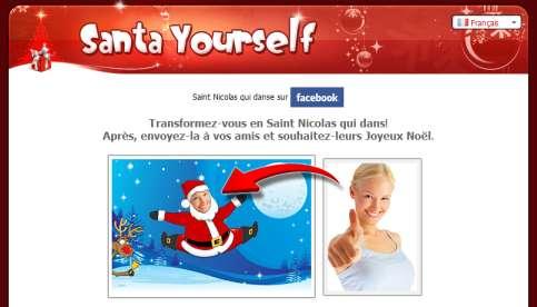 Transformez-vous en Père Noël