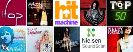 top 50 musique
