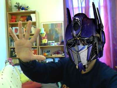 Réalité augmentée Transformers