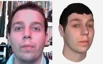 visage 3d statique