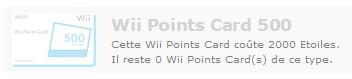 500 points wii