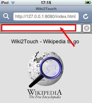 recherche index wiki2touch