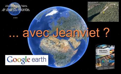 Enregistrer Zoom Vidéo Google Earth